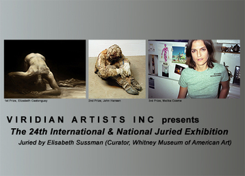 PRESS RELEASE: 24th Annual International Juried Exhibition